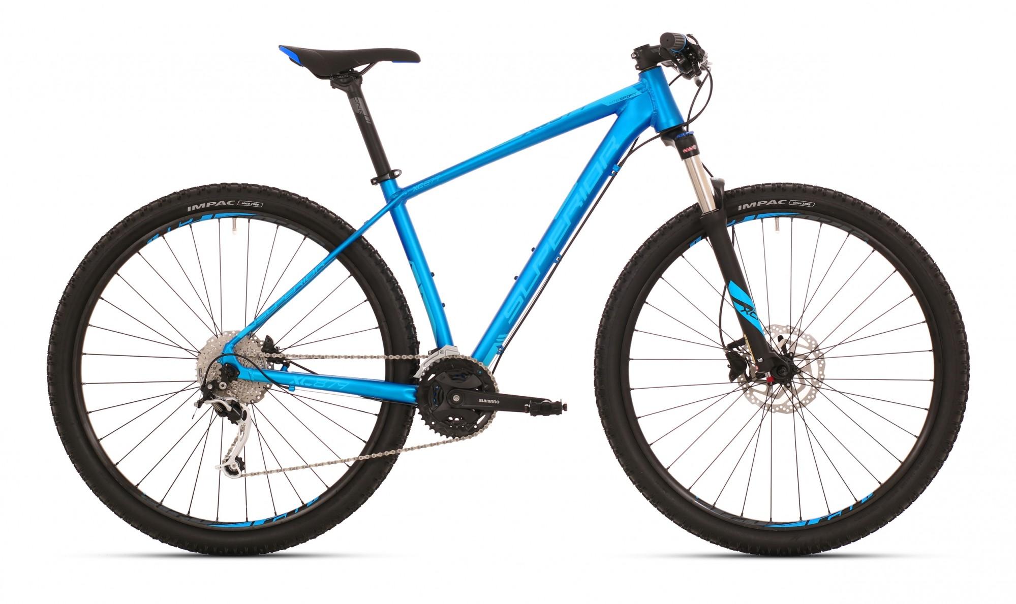 Superior XC 879 ALU Matte Blue Neon Blue 3x9