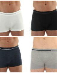 Seamless Merino Wool Boxer Shorts for Men
