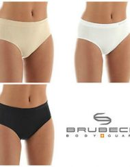 Seamless Merino Wool High-leg Briefs for Ladies