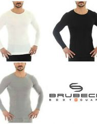 Seamless Merino Wool Long Sleeve Top for Men