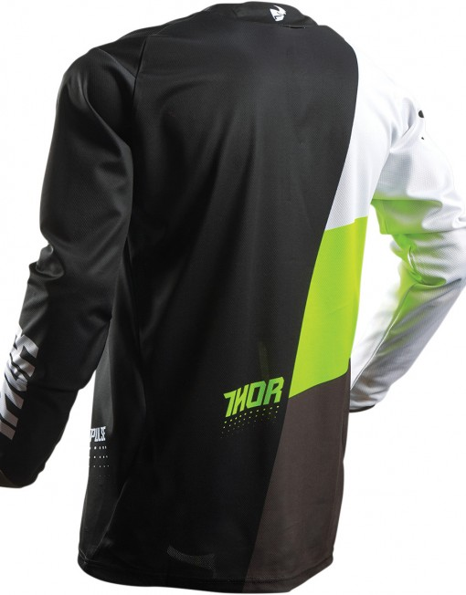 THOR PULSE AKTIV S7 OFFROAD JERSEY LIMEBLACK 29103912