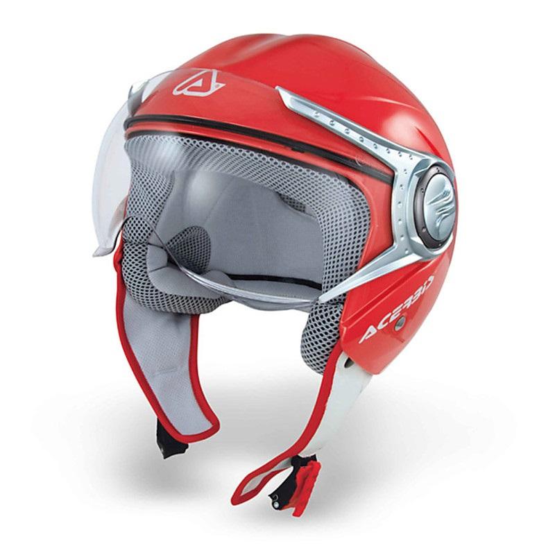 Acerbis Jet Red Nano Visor motociklininkų šalmas