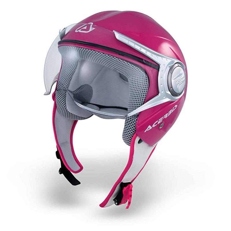 Acerbis Jet Violet Nano Visor motociklininkų šalmas