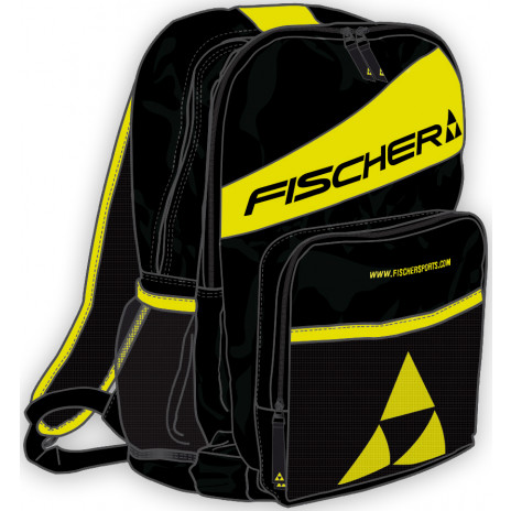 FISCHER ECO Backpack Black Yellow 25L