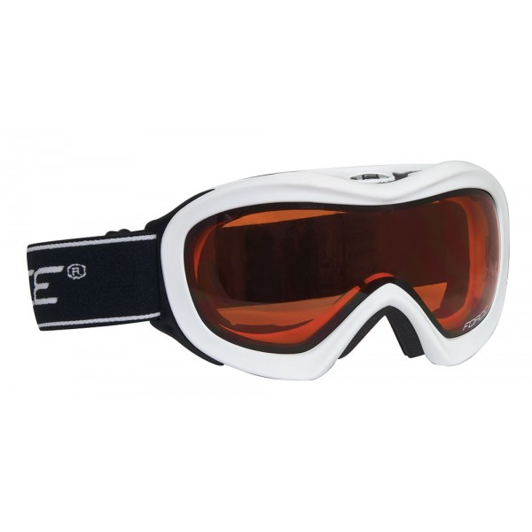 FORCE SKI LADY-KID baltas, oraninis stiklas - 90996
