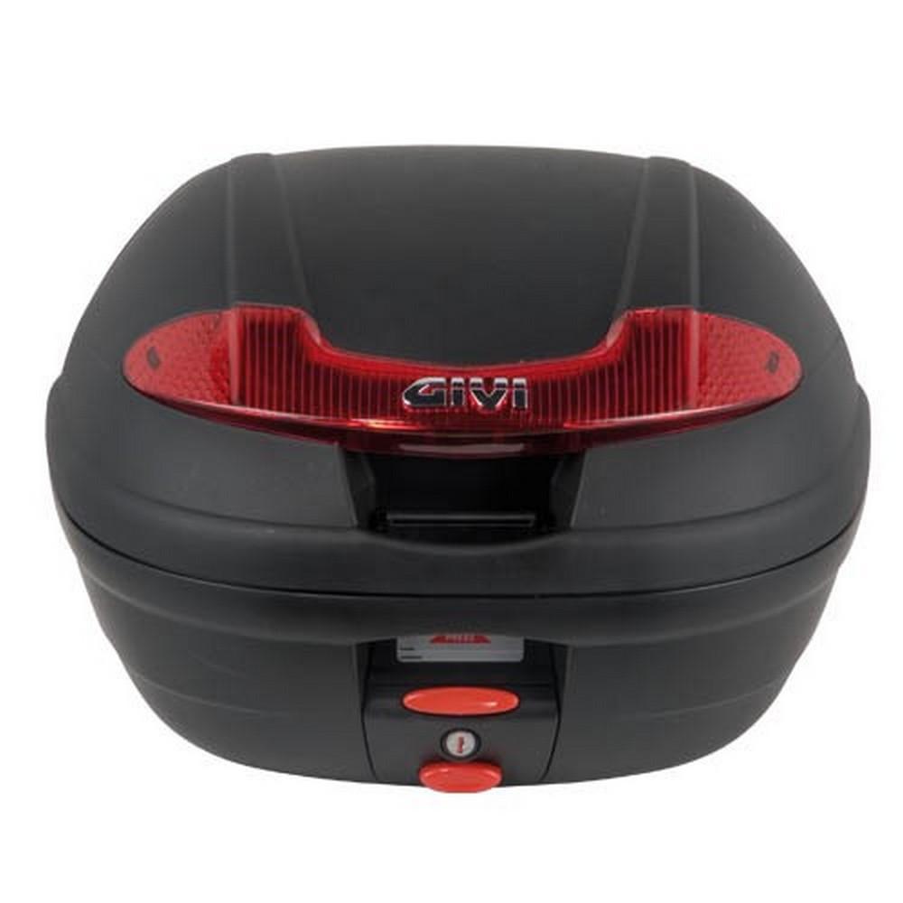 Givi E340 Motorcycle Top Box (34 Litre) & Universal Monolock Plate