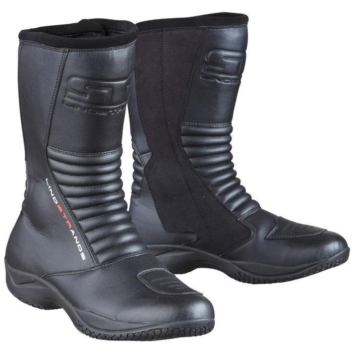 Lindstrands Brick Black motociklininkų batai