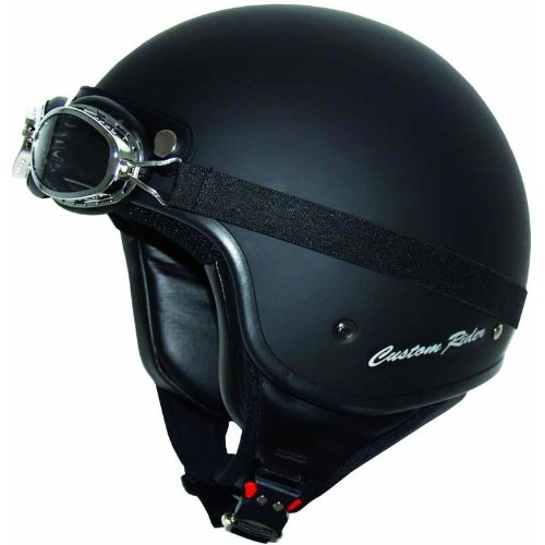 MT Custom Rider Open Face Motorcycle