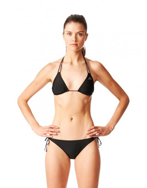 Adidas Bikini Swimming Solid Triangle Pink Beach Summer 2017 New moteriškas maudymosi kostiumėlis BJ9861 3
