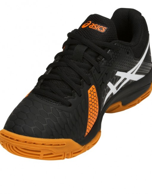 Asics Handballshoes Gel-Blast 7 GS Kids black-orange C643Y-400 1