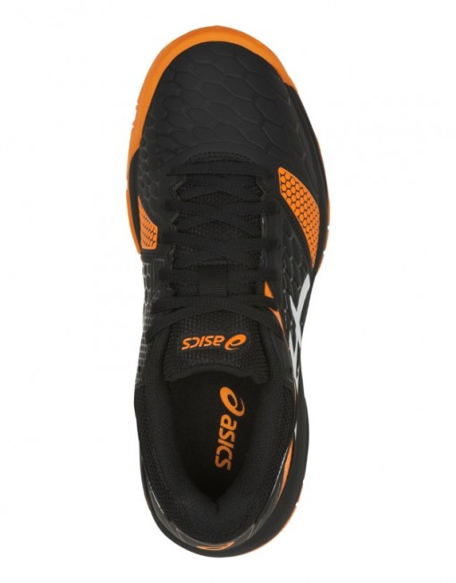 Asics Handballshoes Gel-Blast 7 GS Kids black-orange C643Y-400 4