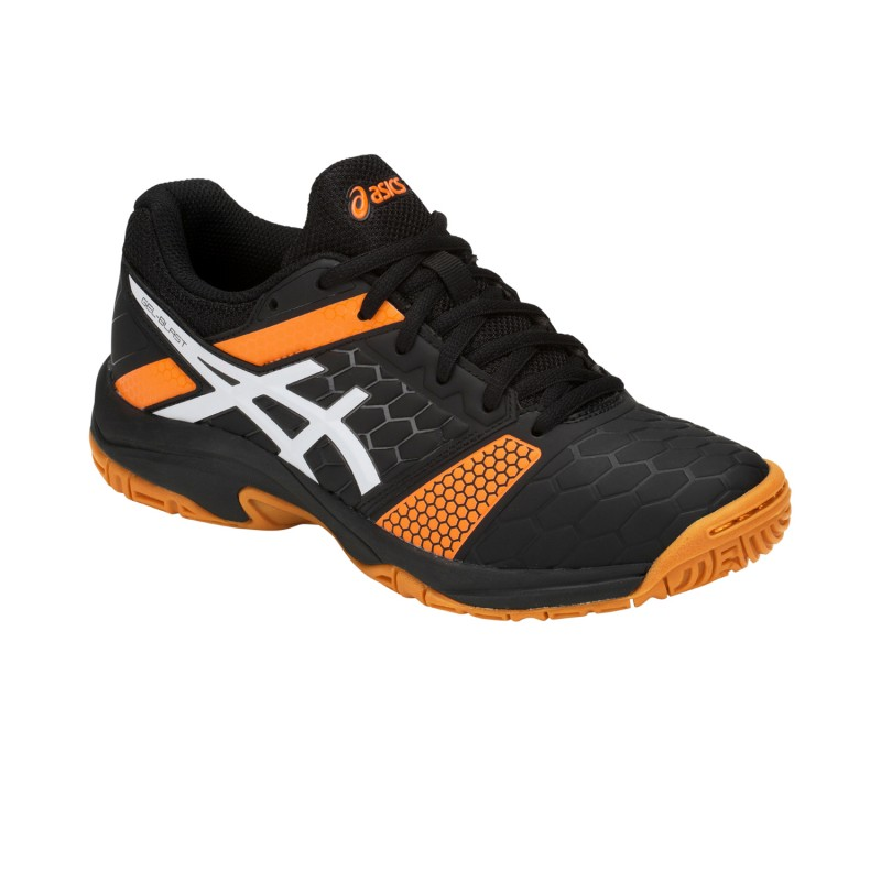 Asics Handballshoes Gel-Blast 7 GS Kids black-orange C643Y-400