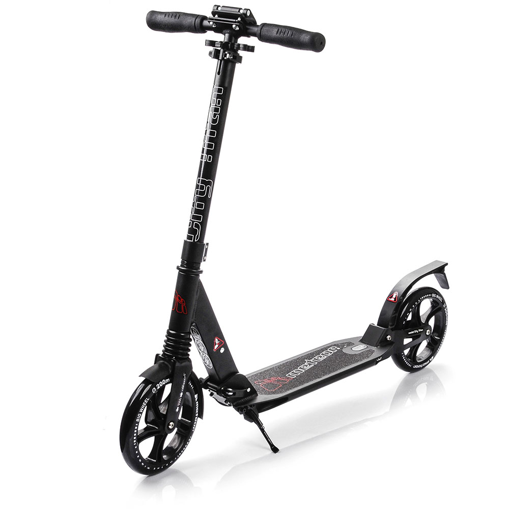 METEOR SCOOTER CITY TITAN black