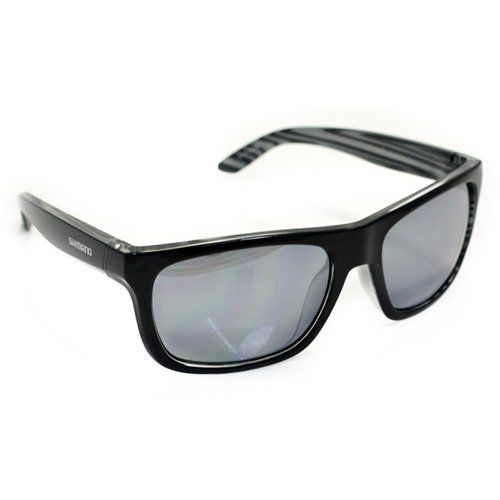 Shimano CE-S23X Cycling Sport Sunglasses, Black Layered