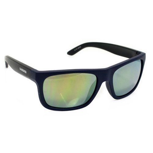 Shimano CE-S23X Cycling Sport Sunglasses, Mat Orion Blue-Mat Black