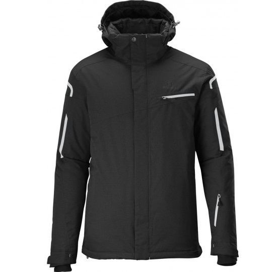 SALOMON SUPERNOVA JACKET M BLACK WHITE