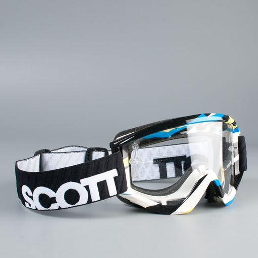 Scott Recoil 3L Shatter Goggles Blue - Yellow