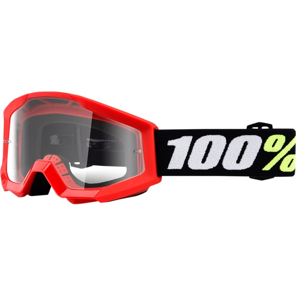 2019 Kids Mini Strata Goggle - Red wClear Lens