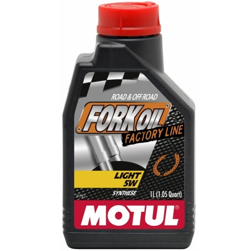 Alyva šakėms Motul Fork Oil Light FACTORY LINE 5W 1L