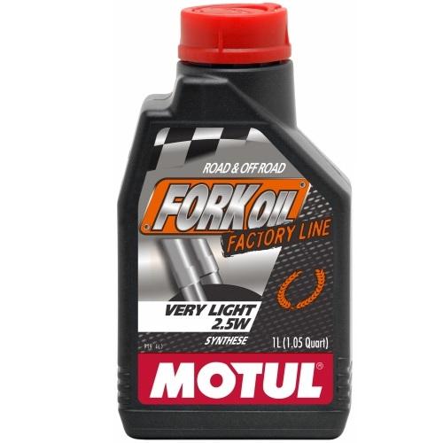 Alyva šakėms Motul Fork Oil Very Light FACTORY LINE 2.5W 1L