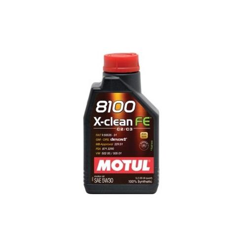 Alyva MOTUL 8100 X-CLEAN FE 5W30 1L