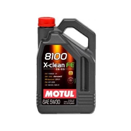 Alyva MOTUL 8100 X-CLEAN FE 5W30 5L