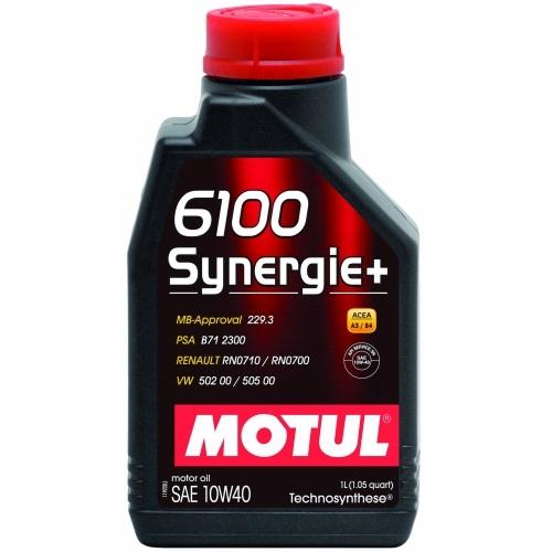 Alyva Motul 6100 Synergie+ 10W-401L