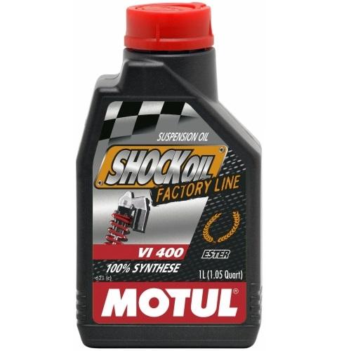 Hidraulinė alyva amortizatoriams Motul Shock Oil FACTORY LINE 1L