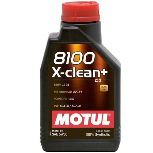 MOTUL alyva 8100 X-CLEAN+ 5W30 1L