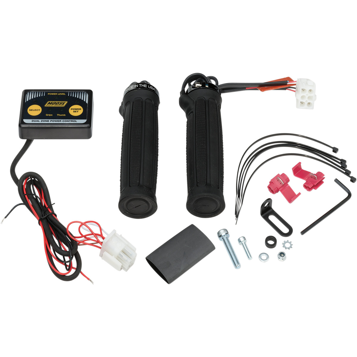 clamp-on dual zone heated grip kit [0631-0154]