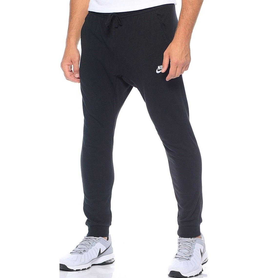 Nike M NSW Pant CF JSY Club Black