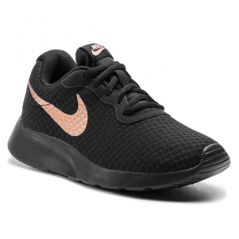 Nike Tanjun 812655 005 Black Mtlc Red Bronze