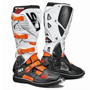 SIDI Crossfire 3 MX Boot Orange/Black/White motociklininkų batai 655-2007