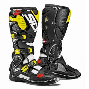View larger SIDI Crossfire 3 MX Boots white/black/yellow motociklininkų batai 655-8002