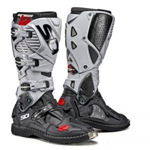 SIDI Crossfire 3 MX Boot Black Ash motociklininkų batai 655-9003