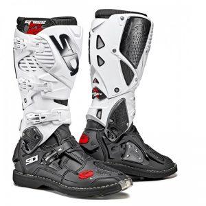 SIDI Crossfire 3 MX Boot black/white motociklininkų batai 655-9004