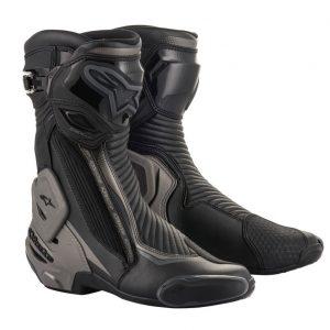Alpinestars Boot SMX Plus v2 Black/Gray/Yellow motociklininkų batai 695-2221019-111