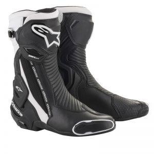 Alpinestars Boots SMX Plus v2 Black/White motociklininkų batai 695-2221019-12