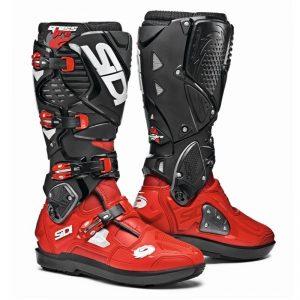 SIDI Crossfire 3 SRS MX Boot Red/Black motociklininkų batai 655-2000