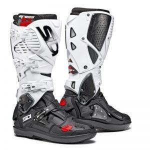 SIDI Crossfire 3 SRS MX Boot black/white motociklininkų batai 655-9009